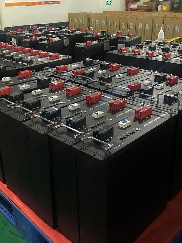 Rack Mounted LiFePO4 Battery