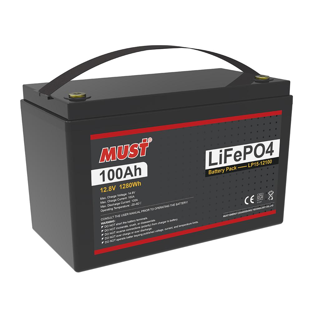 Lithium Iron Phosphate Battery LP15-12100-100 (12.8V/100Ah)