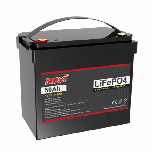 Lithium Iron Phosphate Battery LP15-1250 (12.8 V/50 Ah)